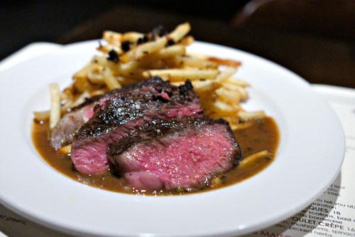 NY Steak au Poivre