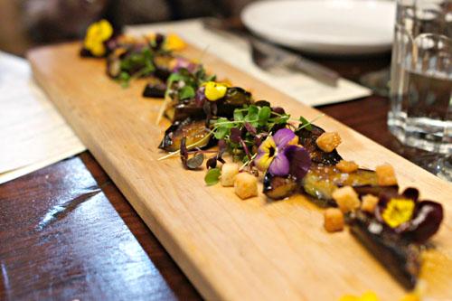 anticucho eggplant