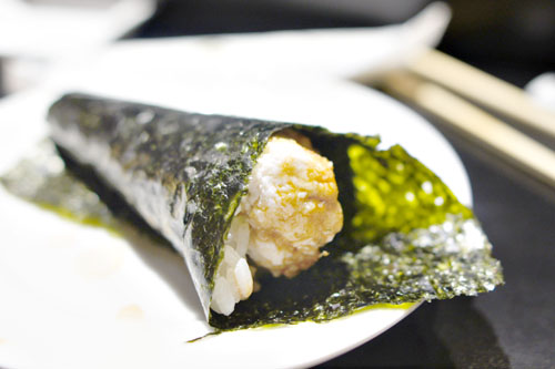 Blue Crab Hand Roll / Watarigani no Temaki