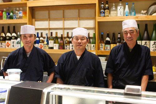 Yuji-san, Miki-san, Shige-san
