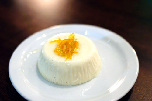 Buttermilk Panna Cotta with Lemon Zest and Candied Citrus