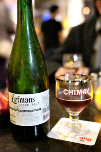Liefmans Cuvee Brut kriek lambic (cherry)