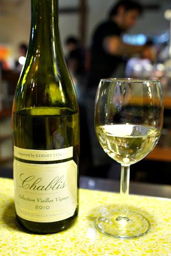 2010 Savary Vieilles Vignes Chablis, Chardonnay, Burgundy, France