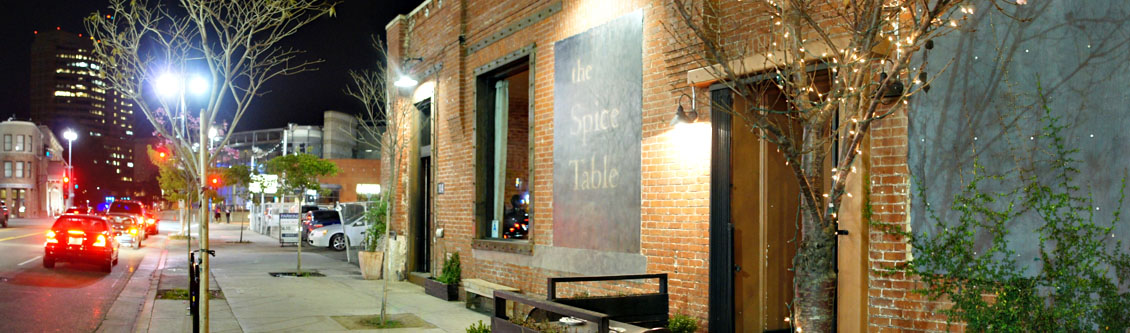 The Spice Table Exterior