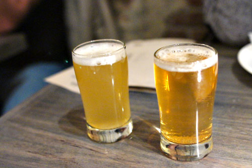Allagash Brewing Company, Allagash White, Belgian Style Wheat / North Coast Brewing Company, La Merle Saison