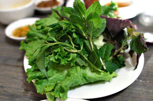 lettuce, herbs