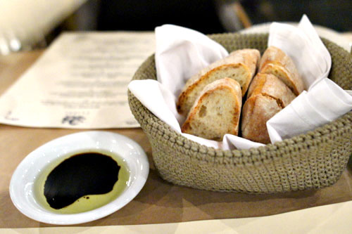 Bread and Olive Oil & Balsamic Vinegar