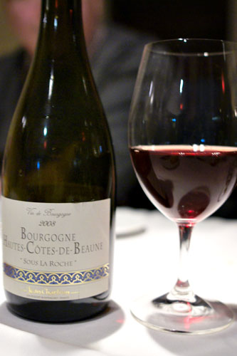 2008 Jean Chartron Bourgogne Hautes-Côtes de Beaune Sous La Roche