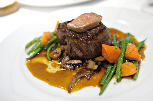 Sautéed Prime Beef Filet Mignon Périgord