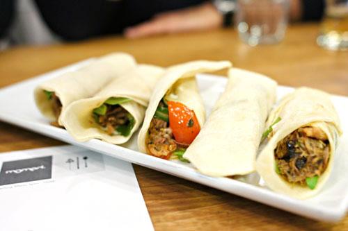 Duck 'shawarma'