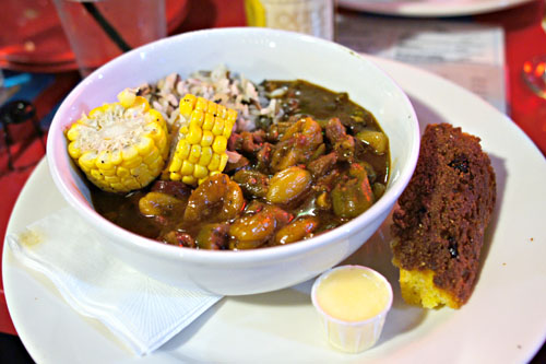 Alligator and Tasso Stew