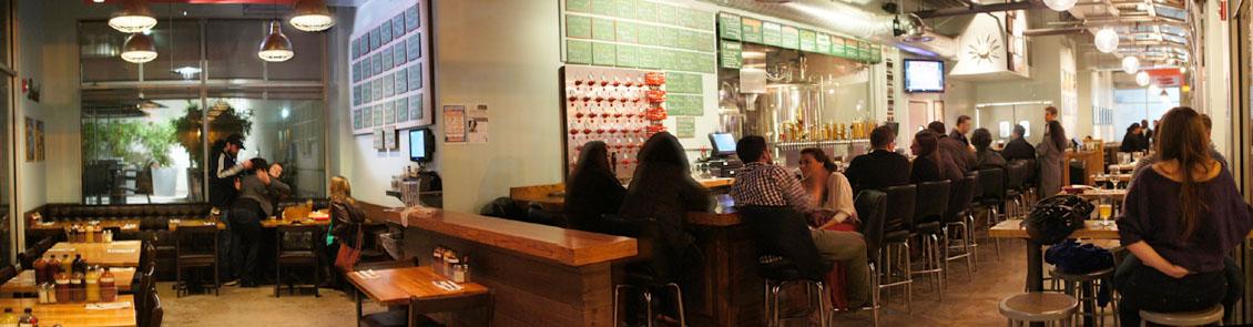 Beachwood Brewing & BBQ Interior