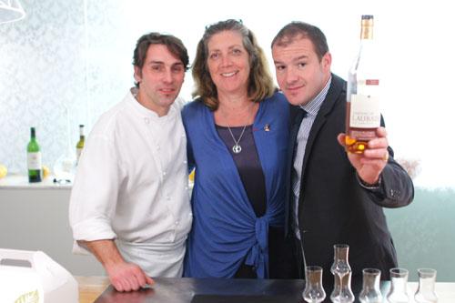 Chef David Feau, Ariane Daguin, Eric Espuny