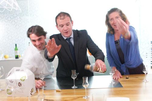 David Féau, Eric Espuny, Ariane Daguin