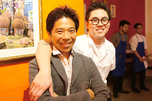Brian Liu, Kris Yenbamroong