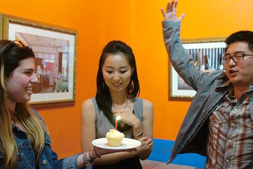 Sarah St. Lifer, Linda Sun Kim, John Suh