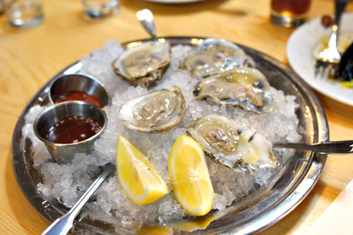 Bluepoint Oysters, Spicy Pickle Juice