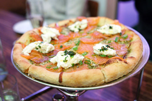 House Smoked Salmon Pizza