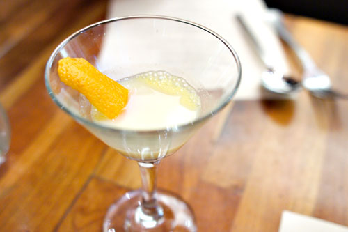 vodka, Cointreau, cream, tangerine, absinth