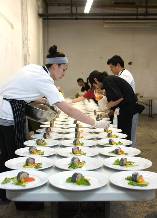 Plating Dishes