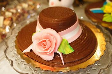 Madame Chocolat Hat