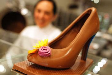 Madame Chocolat Shoe