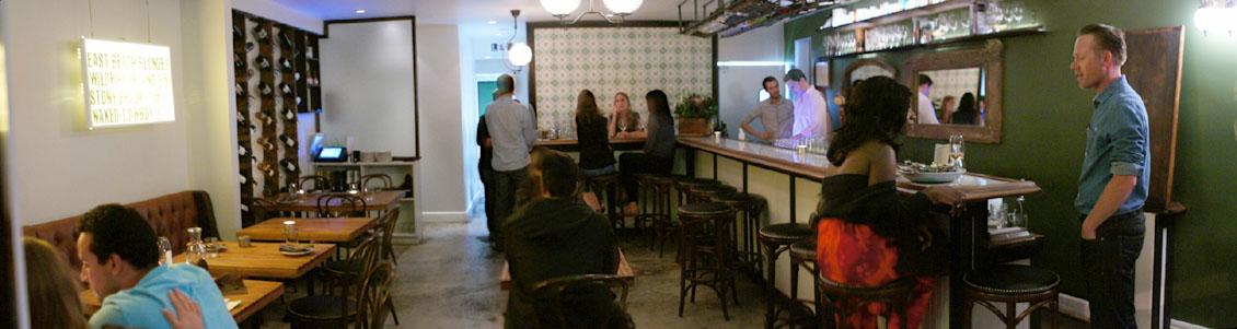 L&E Oyster Bar Interior