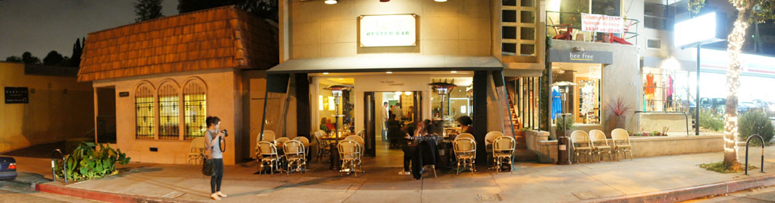 L&E Oyster Bar Exterior
