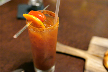 Charlie Sheen Tiger Bloody Mary
