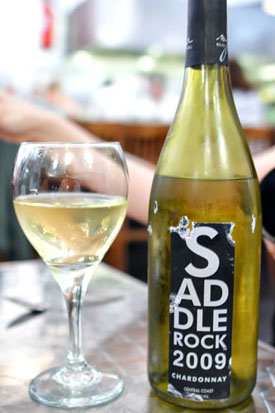 2009 Malibu Family Wines Chardonnay Saddlerock