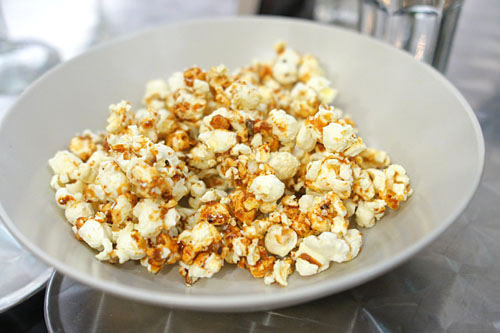 Shichimi kettle corn