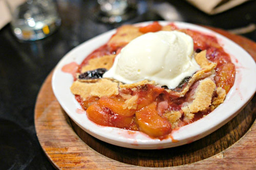Serious Business Summer Fruit Cobbler