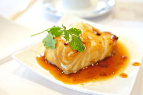 Honey Baked Seabass