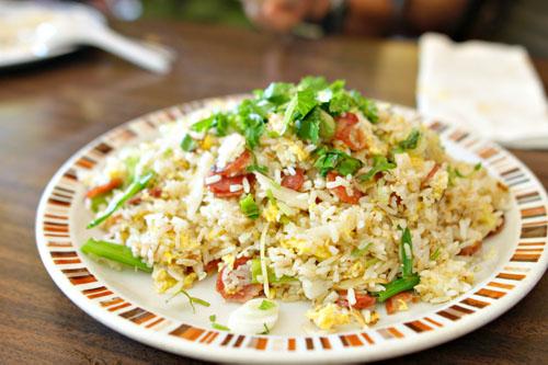 Salt Cod Fried Rice