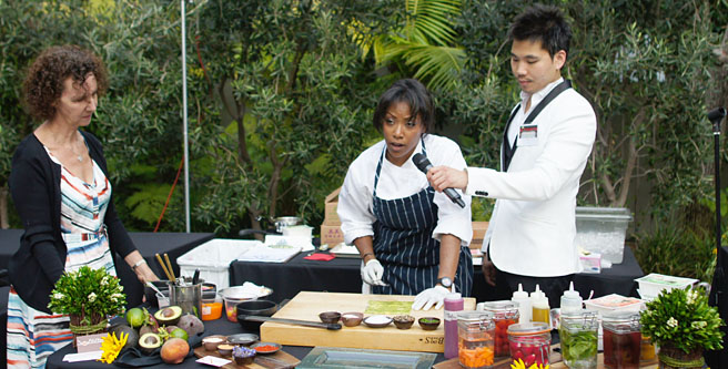Nyesha Arrington Cooking Demo