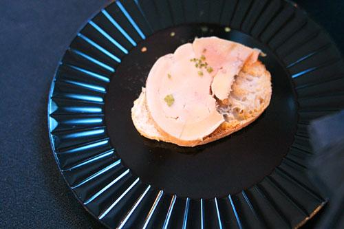 Foie Gras 'Sashimi'