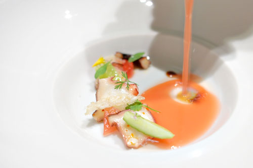 Kimchi Gazpacho With Shrimp Recipes — Dishmaps
