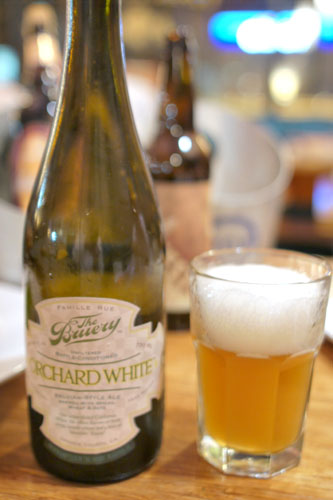The Bruery Orchard White