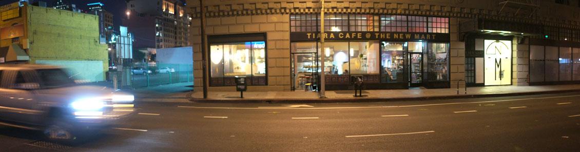Tiara Cafe Exterior
