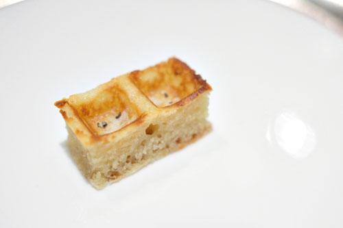 Parmesan waffle