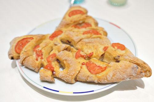 Tomato Fougasse