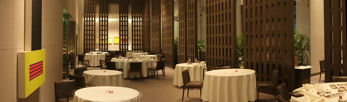 Restaurant Guy Savoy Interior