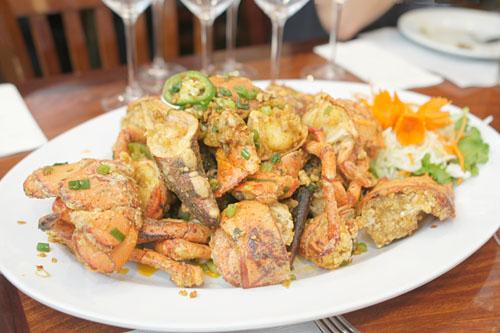 Lobster (Garlic Pepper Sauce)