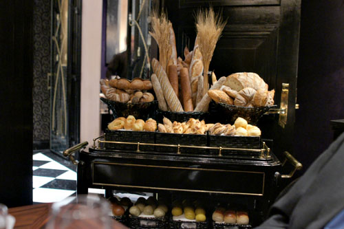 Joel Robuchon Bread Cart