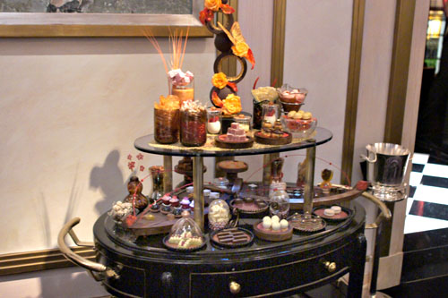 Joel Robuchon Candy Cart