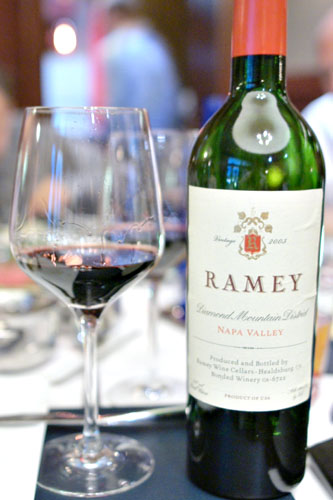 2003 Ramey Cabernet Sauvignon Diamond Mountain