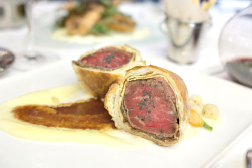 Roasted Beef Wellington