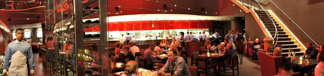 Gordon Ramsay Steak Interior