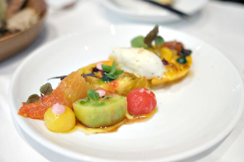 Coastal Organic Farm's Heirloom Tomato Salad