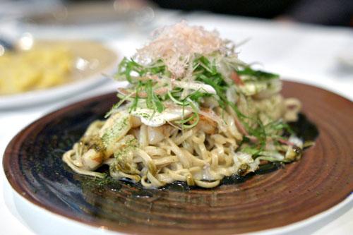 Aonori Soba Pasta, Dungeness Crab